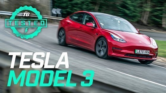 Видео Tesla Model 3 2021 Review: 0-60mph, ride, handling, user guide & Tesla Autopilot | Top Gear Tested