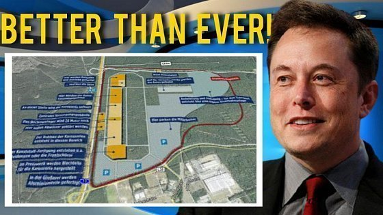 Видео THIS IS HUGE!!! This New Gigafactory Will Blow Up Tesla Production in Europe!