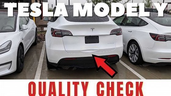 Видео Has Tesla Improved The Model Y Build Quality For March 14th?