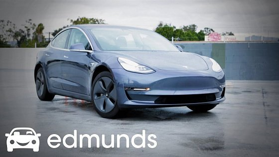 Видео Tesla Model 3 Model Review | Edmunds