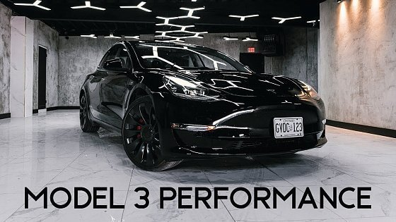 Видео 2021 Tesla Model 3 Performance | Keeping Up With The Teslas