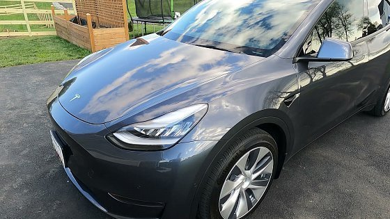 Видео 2021 Tesla Model Y - Issues After Two Months