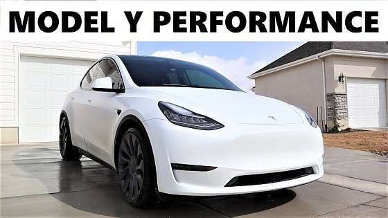 Видео New Tesla Model Y Performance: Do The Build Quality Issues Overshadow The Performance???