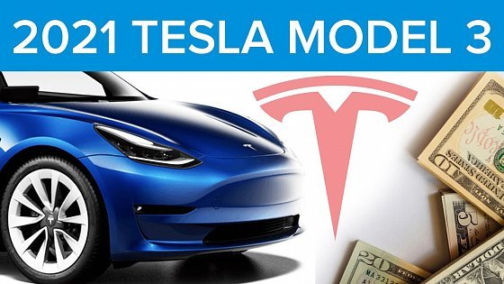 Видео True Cost Of 2021 Tesla Model 3