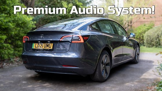Видео Tesla Model 3 audio review: Better than the Polestar 2? | TotallyEV