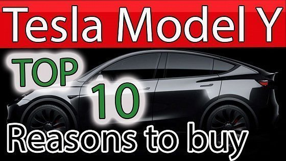 Видео BUY a Tesla Model Y TODAY - 10 Reasons why in 2021 - BEST CAR EVER