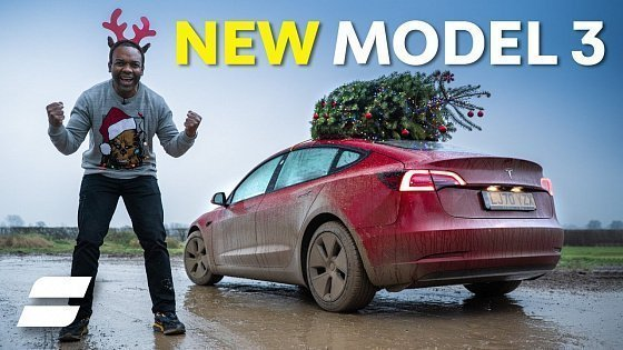 Видео NEW Tesla Model 3 SR+ Review: The Gift That Keeps Giving | 4K