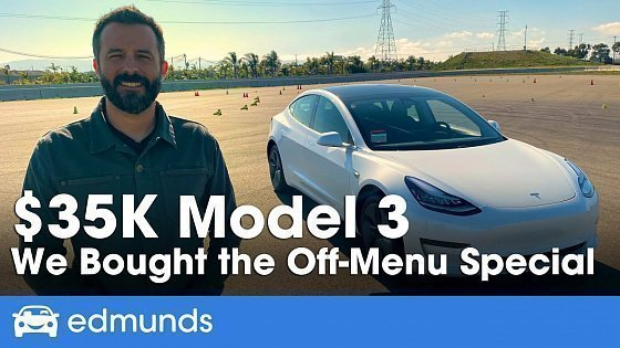 Видео Tesla Model 3: What Do You Really Get for the $35K Price?