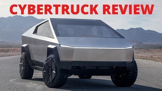 Видео Tesla Review: Driving the Cybertruck