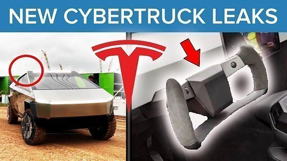Видео Employees Leak Tesla Cybertruck