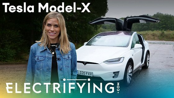 Видео Tesla Model X SUV 2020: In-depth review with Nicki Shields / Electrifying