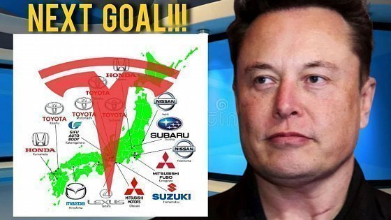 Видео MINDBLOWING!!! Tesla Is Going After Japan's Auto Market BIG Time!!!
