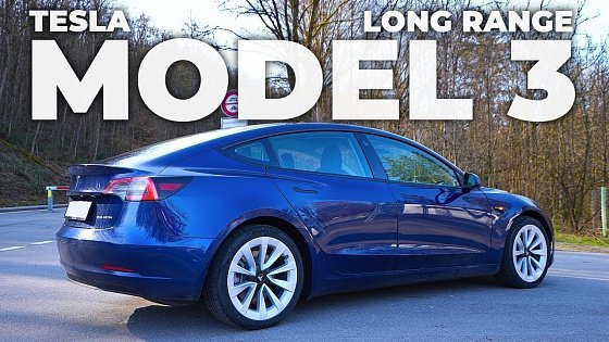 Видео TESLA Model 3 Long Range Facelift 2021 Review