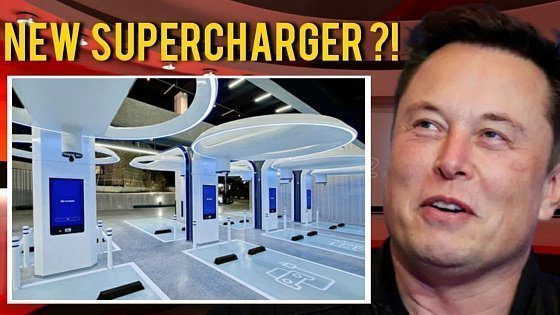 Видео GREAT NEWS!!! Elon Musk Isn't Joking About New Tesla Supercharger!