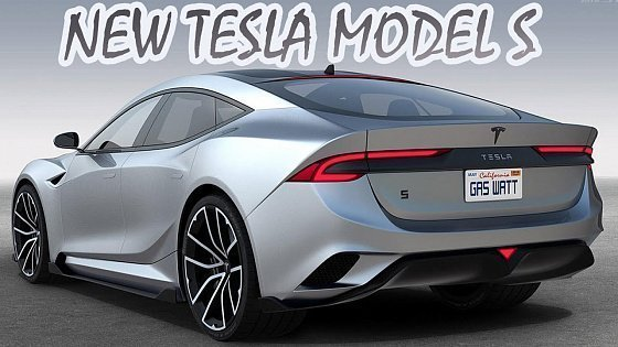 Видео New Tesla Model S - All-new Design